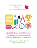 Multi-Skill Center Planners {Differentiation, Scaffold}