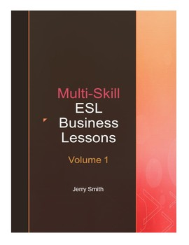 Multi-Skill ESL Business Lessons (Pkg of 9)