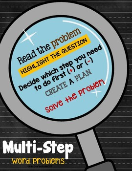 Multi-Step 2 Digit Word Problems