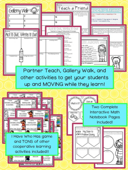 Multi-Step Add & Subtract Word Problems - Fourth Grade 4.OA.A.3 Activity Unit
