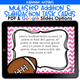 Multi-Step Addition and Subtraction Task Cards