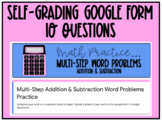 Multi-Step Addition and Subtraction Word Problems Practice