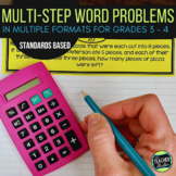 Multi-Step Word Problems| Problem solving for grades 3 and 4