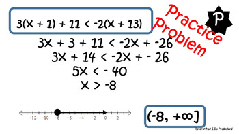 Multi Step & Compound Inequalities Fix It or Forget It!