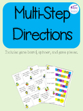 Multi-Step Directions Game
