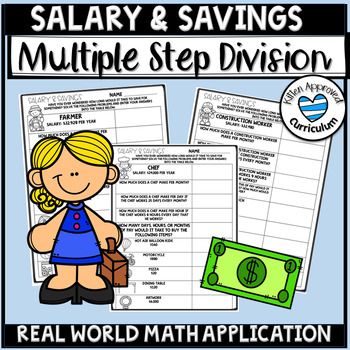 Real World Math Problems Activity Interpreting Remainders Division