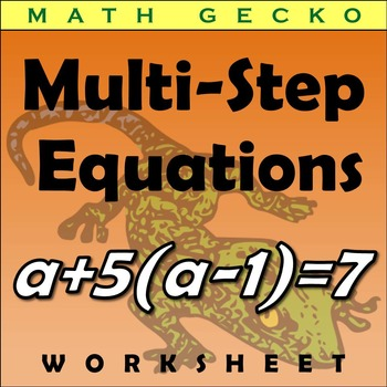 #126 - Multi-Step Equation Maze