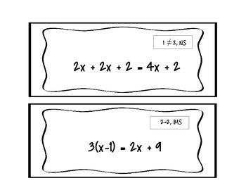 Multi-Step Equation Walk-Around (Scavenger Hunt)