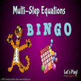 Multi-Step Equations BINGO