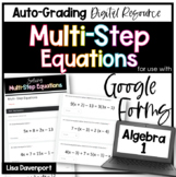 Multi- Step Equations- for use with Google Forms