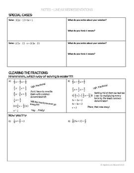 Multi-Step Equations Lesson