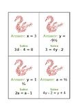 Multi Step Equations Maths  Trail