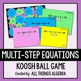 Multi-Step Equations Koosh Ball Game