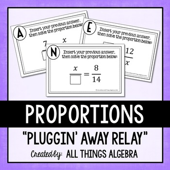 Proportions Relay Activity