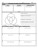 Multi-Step Equations Special Solutions Notes