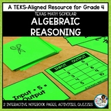 Multi Step Equations Strip Diagrams and Number Patterns | TEKS Math Activities
