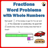 Fractions Worksheets 4th 5th Grade - Multi Steps Word Problems