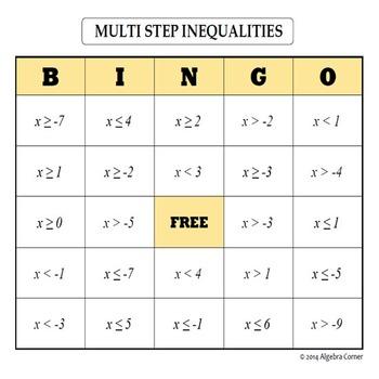 Multi-Step Inequalities