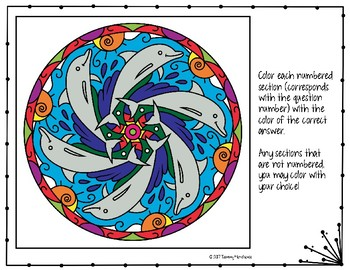 Multi-Step Inequalities Coloring Page