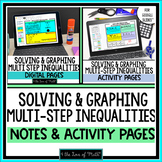 Multi-Step Inequalities Note and Activity Bundle for Googl