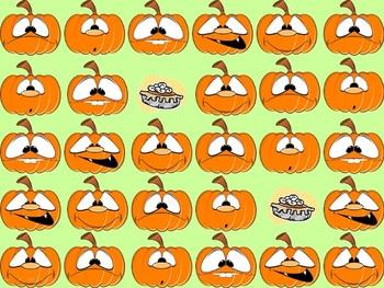 Multi-Step Inequalities Pumpkin Smash Bingo