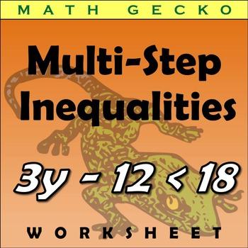 #132 - Multi-Step Inequalities Riddle
