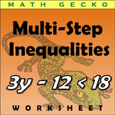 #132 - Multi-Step Inequalities Riddle