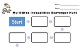 Multi-Step Inequality Scavenger Hunt