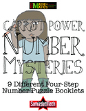 Multi-Step Math Problem Booklets for 2nd through 5th Graders