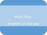 Multi-Step Math Problem of the Day