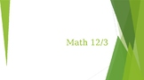 Multi Step Math Problems 3rd Grade PPT