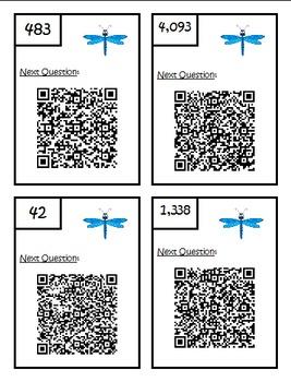 Multi-Step Problem QR Code Add/Subtract Scavenger Hunt - 3.OA.8 Third Grade