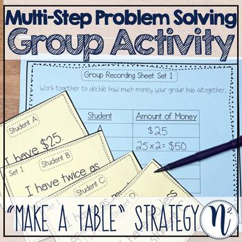 problem solving make a table