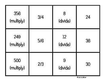 Multi Step Problem Solving Puzzles