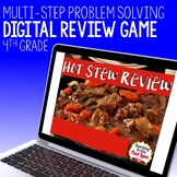 Multi-Step Problem Solving Review Game - Hot Stew Review
