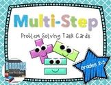 Multi-Step Problem Solving Task Cards - Grades 2-3
