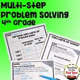 Multi-Step Problem Solving Unit with Lesson Plans