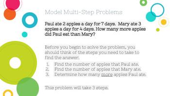 Multi-Step Problems