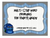 Multi-Step Problems for Fourth Grade