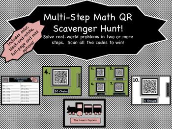 Multi-Step QR Scavenger Hunt