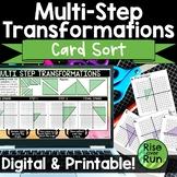 Multi Step Transformations Card Sort Activity