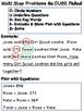 Multi Step Word Problem Book Addition & Subtraction CUBE method Test prep