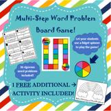 Multi-Step Word Problem Game (TEKS 2.4C, 2.4D)
