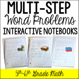 Multi-Step Word Problem Interactive Notebook