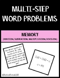 Multi-Step Word Problem Memory Game
