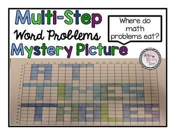 Multi-Step Word Problem Mystery Picture