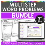 Multi-Step Word Problem Practice Bundle