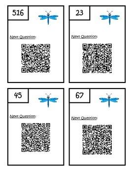 Multi-Step Word Problem QR Code Third Grade Scavenger Hunt - 3.OA.8