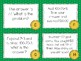 Multi- Step Word Problem Task Cards March Themed