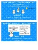 Multi Step Word Problem Task Cards- PDF and Google Slides